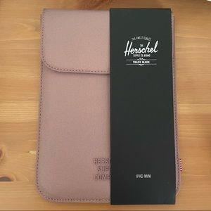 Herschel iPad mini case dusty rose